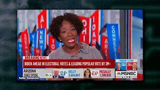 MSNBC's Joy Reid Says Close Presidential Election Proves America Is Still Racist