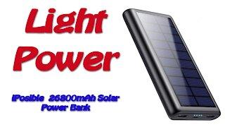 iPosible 26800mAh Solar Power Bank Review