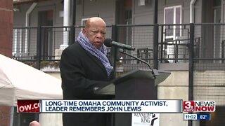 Long-time Omaha Community Activist Remembers John Lewis