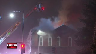 Building a complete loss after fire