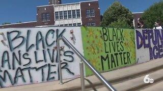 Black Lives Matter demonstration at Boise State