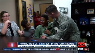 Military homecoming surprise