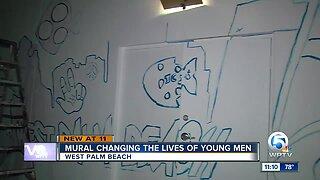 Mural in West Palm Beach
