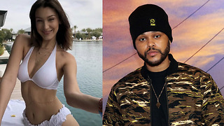 Bella Hadid RESPONDS To Making Out With The Weeknd Rumors