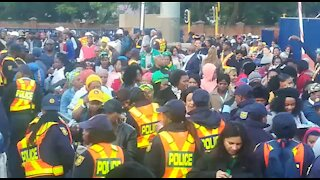 SOUTH AFRICA - Pretoria - Presidential Inauguration at Loftus Versveld (Videos) (yAJ)