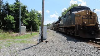 CSX Q217 Autorack Train Part 1 from Lodi, Ohio August 3, 2021