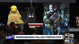 Fallen firefighter Brian Beck, Jr laid to rest