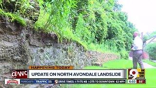 Update on North Avondale landslide