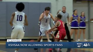 KSHSAA now allowing sports fans