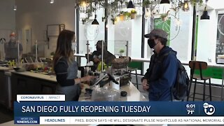 SD fully reopening Tuesday