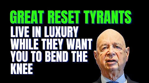 The Great Reset And World Economic Forum Claim They Aren't Nefarious, Don't Believe Them.