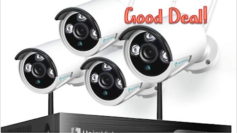 Unboxing Security Cameras from Amazon