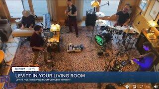 Levitt hosts last living room concert tonight