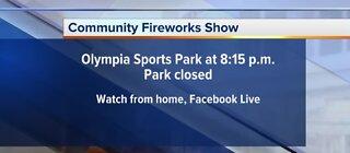 Memorial Day fireworks online