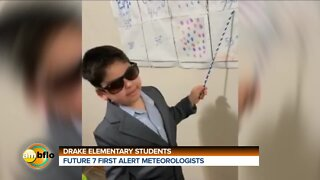 FUTURE METEOROLOGISTS FROM DRAKE ELEMENTARY