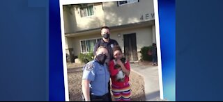 North Las Vegas police reunite little girl with her cat