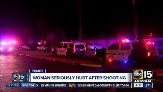 Woman shot in Tempe