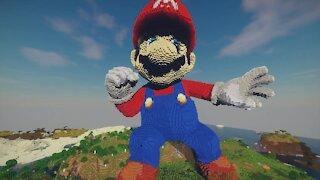 Minecraft Mario Build Schematic - Mario