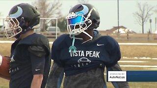 Vista Peak grabs spring football spotlight