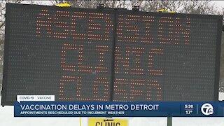 Vaccination delays in Metro Detroit