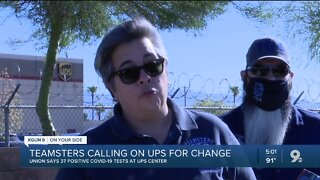 Union calls for Silverlake UPS location to close after employees test positive for COVID-19