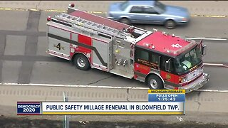 Public safety millage renewal in Bloomfield Township