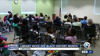 Library kicks off Black History Month in Lantana