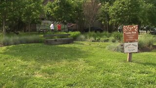 Residents of Cleveland's Tremont neighborhood rally to save Lucky Park