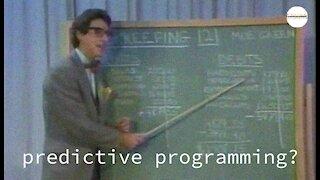Predictive Programming or Prophetic Satire?