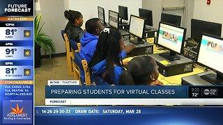 Preparing students for virtual classes