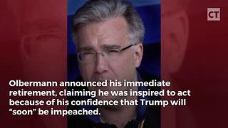 Keith Olbermann Announces Retirement