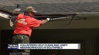Volunteers help clean and unify neighborhoods in Southfield