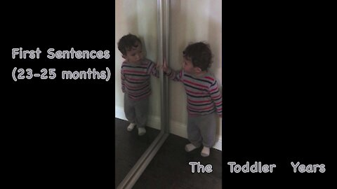 2-year-old's first sentences