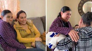 Best birthday surprise – Daughter reunites mum and gran after 23 years apart