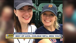 Farewell to 8am producer, Chelsea!