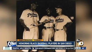 Honoring black baseball players in San Diego