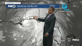 Hurricane Sally Update Monday 9/14 10 PM