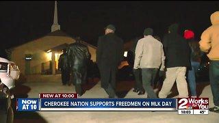 Cherokee Nation freedmen honored on MLK Day