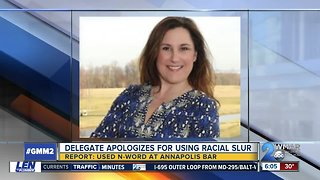 Maryland lawmaker apologizes for using racial slur