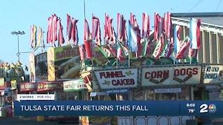 Tulsa State Fair returns this fall