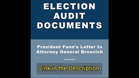 [LINK] Arizona ELECTION AUDIT DOCUMENTS