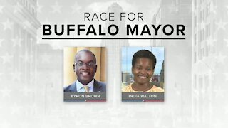 Buffalo Mayoral candidates India Walton and Byron Brown lead rallies to launch early voting