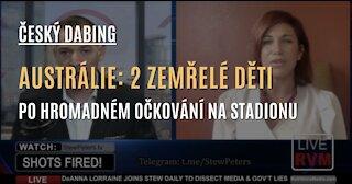 CZ DABING - AUSTRÁLIE: 2 mrtvé děti poté, co 24 tisíc dětí nahnali na stadion, kde je naočkovali