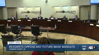 Johnson County to review mask mandate policy next week