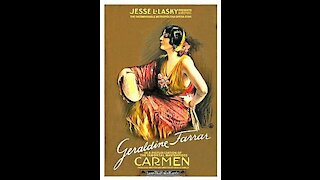 Carmen (1915) | Directed by Cecil B. Demille - Full Movie