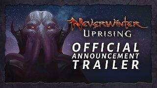 Neverwinter Uprising Official Announce Trailer