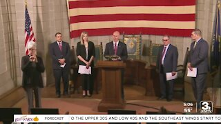 Gov. Ricketts honors Center of Operational Excellence for service during the pandemic
