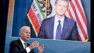Biden Admin. Now Trying To Save California Governor Gavin Newsom From Recall Election