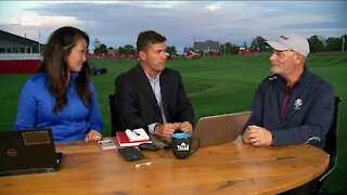 Day 2 of Ryder Cup preparations