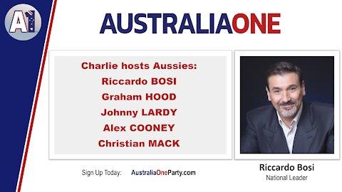AustraliaOne Party - Charlie Hosts Aussies